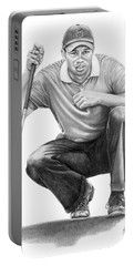 Tiger Woods Crouching Tiger Portable Battery Charger