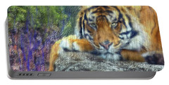 Tigerland Portable Battery Charger by Michael Cleere