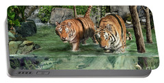 Tiger's Water Park Portable Battery Charger