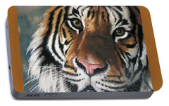 Tigger Portable Battery Charger by Barbara Keith