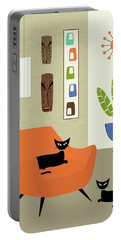 Tikis On The Wall Portable Battery Charger