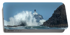Tillamook Rock Light House, Oregon - Terrible Tilly Portable Battery Charger