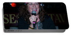 Tima Sings Hungry Heart Portable Battery Charger by Jeff Ross