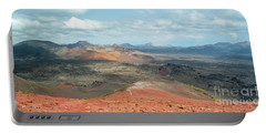 Timanfaya Panorama Portable Battery Charger by Delphimages Photo Creations