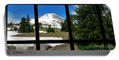 Timberline Lodge View Portable Battery Charger