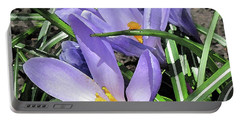 Time For Crocuses Portable Battery Charger