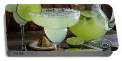 Portable Battery Charger featuring the photograph Time For Margaritas by Teri Virbickis
