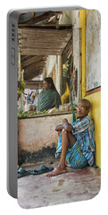 Portable Battery Charger featuring the photograph Kumarakom by Marion Galt