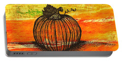 Time To Get Pumkin Portable Battery Charger