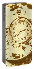 Time Worn Vintage Pocket Watch Portable Battery Charger