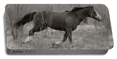 Timeless And Hopeful Horse  Portable Battery Charger