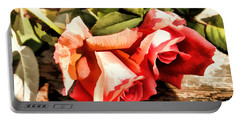 Timeless Tropicana Roses Portable Battery Charger