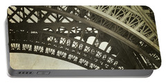 Timeless - Vintage Paris Eiffel Tower Photography Portable Battery Charger