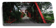 Portable Battery Charger featuring the photograph Time's Forgotten Walking Bridge by Natalie Ortiz
