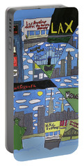Times Square Portable Battery Charger by Artists With Autism Inc