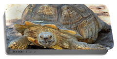 Timothy The Giant Tortoise Portable Battery Charger