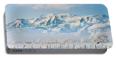 Timp In Winter Portable Battery Charger