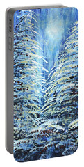 Tim's Winter Forest Portable Battery Charger