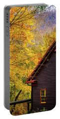 Tingler's Mill In Fall Portable Battery Charger