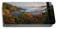 Portable Battery Charger featuring the photograph Tinkers Creek Gorge Overlook by Dale Kincaid
