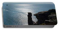 Tintagel Stack Cornwall Portable Battery Charger