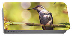 Tiny Bird Upon A Branch Portable Battery Charger