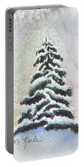 Tiny Snowy Tree Portable Battery Charger