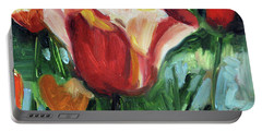 Tip Toe Thru The Tulips Portable Battery Charger
