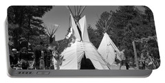 Tipis In Black Hills Portable Battery Charger