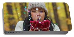 Portable Battery Charger featuring the photograph Tis The Season.. by Nina Stavlund