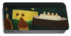 Titanic's Birthday Portable Battery Charger