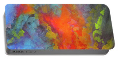 Title. Symphonata. An Acrylic Painting Portable Battery Charger