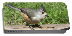 Titmouse Close Up Portable Battery Charger