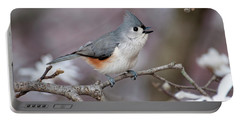 Titmouse Song - D010023 Portable Battery Charger by Daniel Dempster