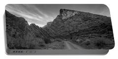 Titus Canyon Road Portable Battery Charger