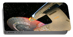 To Boldly Go Portable Battery Charger