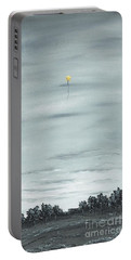 Portable Battery Charger featuring the painting To The Stars by Kenneth Clarke