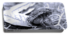 Toad Carefully Portable Battery Charger by D Renee Wilson