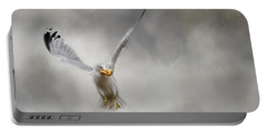 Toast For Breakfast Bird Art Portable Battery Charger by Jai Johnson