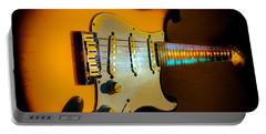 Tobacco Burst Stratocaster Glow Neck Series Portable Battery Charger
