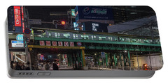Portable Battery Charger featuring the photograph Tokyo Metro by Perry Rodriguez