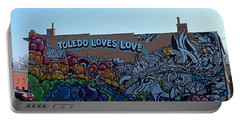 Toledo Loves Love Portable Battery Charger