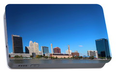 Portable Battery Charger featuring the photograph Toledo Skyline I by Michiale Schneider