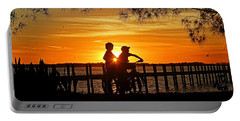 Portable Battery Charger featuring the photograph Tom And Huck by HH Photography of Florida