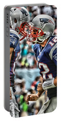 Tom Brady Art 4 Portable Battery Charger