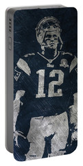 Tom Brady Patriots 4 Portable Battery Charger