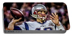 Tom Brady - Touchdown Portable Battery Charger