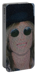 Tom Petty Song List Mosaic Portable Battery Charger