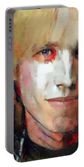 Tom Petty Tribute Portrait 3 Portable Battery Charger