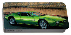 Tomaso Mangusta 1967 Painting Portable Battery Charger